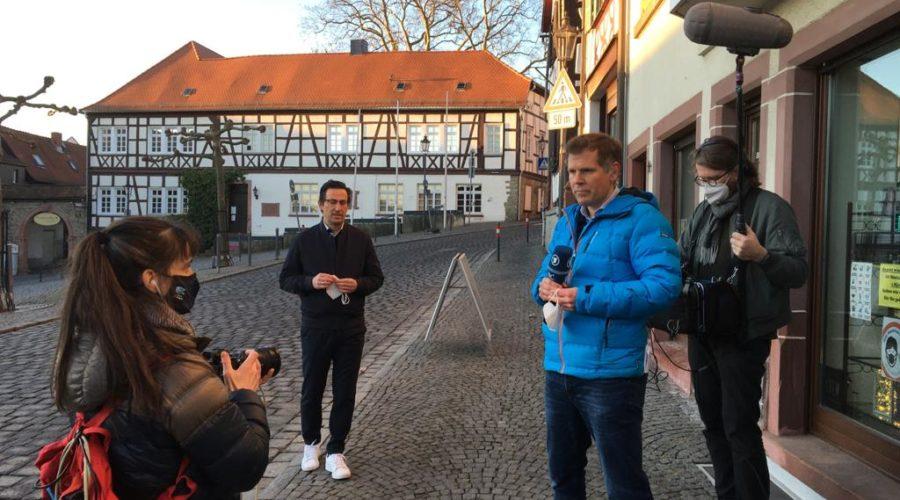 Heimvorteil im ARD – Morgenmagazin vom 1. März 2021